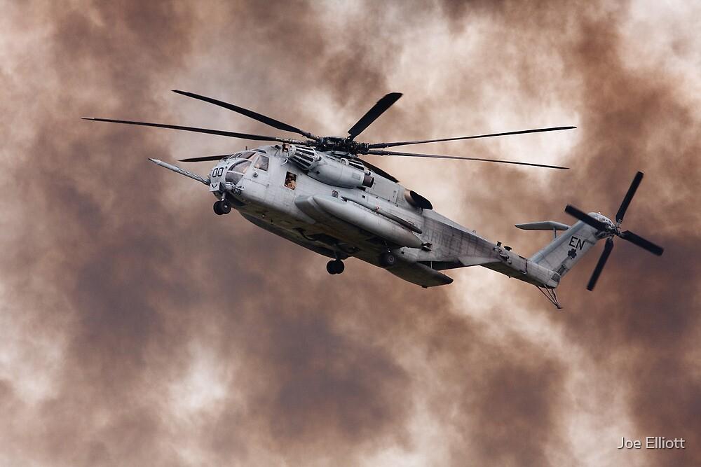 Military Helicopter by Joe Elliott