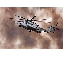 Military Helicopter Photographic Print