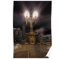 City Lights • Melbourne • Australia Poster