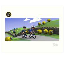 #PolyPeloton : Tour de Yorkshire Art Print