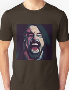 Dave Grohl. Foo fighters. Rock. Music. T-Shirt