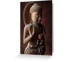 GOUTAM BUDDHA Greeting Card