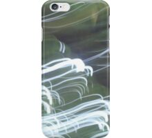 White Light Trail iPhone Case/Skin