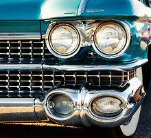 1959 Cadillac Sedan Deville (Series 62) Grill by JonWoodhams