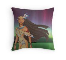Native Princess Throw Pillow