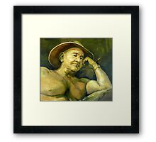 The Old Aussie Digger Framed Print