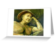 The Old Aussie Digger Greeting Card