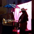 Potosi Popcorn Lady by Matt  Streatfeild
