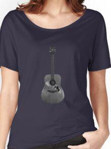 Battered Guitar Women's Relaxed Fit T-Shirt