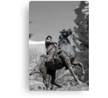 Pancho Villa rides through Tucson Canvas Print