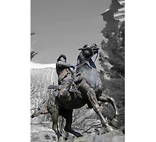 Pancho Villa rides through Tucson Photographic Print