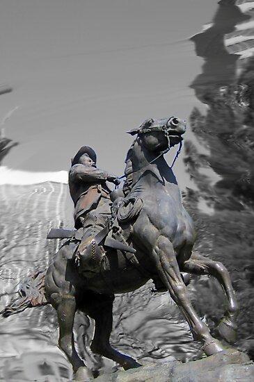 Pancho Villa rides through Tucson by DAdeSimone