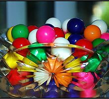 Colorful Gumballs by Mattie Bryant