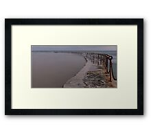 The Canoe Pool Framed Print