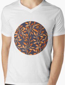 Autumn pattern Mens V-Neck T-Shirt