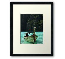 Longtail Framed Print