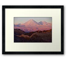 Life on Mars Framed Print