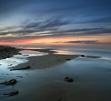 Rattray Point Sunset by Maria Gaellman