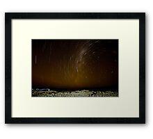Atacama Star Trail Framed Print