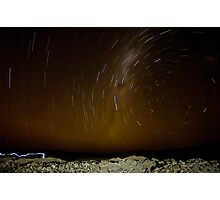Atacama Star Trail Photographic Print