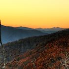 Blue Ridge Afterglow by C David Cook