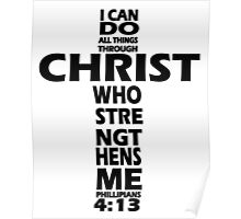 I CAN DO ALL THINGS Poster
