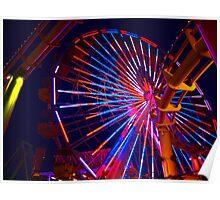 Pacific Ferris Wheel Poster