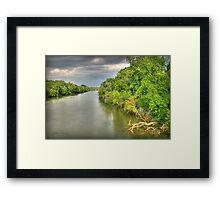 Coosa River Framed Print