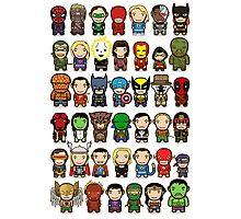 Heroes Unite! Photographic Print