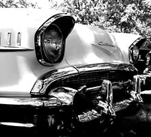 Chevy Eyes, The Hooded Headlights on a Classic by kelleygirl