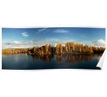 Autumn in Oulu Poster