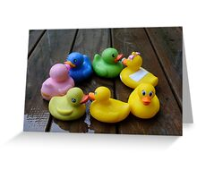 Duck, Duck, Duck...Wait, Where's the Goose? Greeting Card