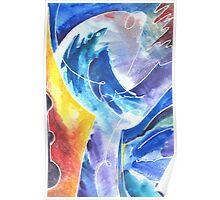 Magical Bird of Creativity Poster