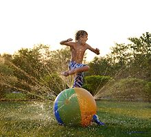 Sunsetting Sprinkler Jumper  by laruecherie
