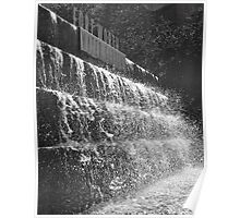 Afternoon Splash! - Fort Worth Water Gardens Poster