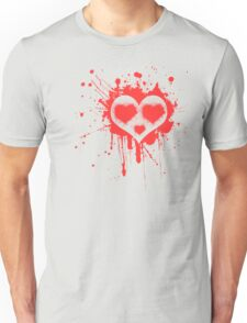 Heart Face Unisex T-Shirt