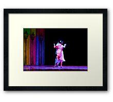 """Couple dancing Tango at """"Caminito"""" Buenos Aires Framed Print"""