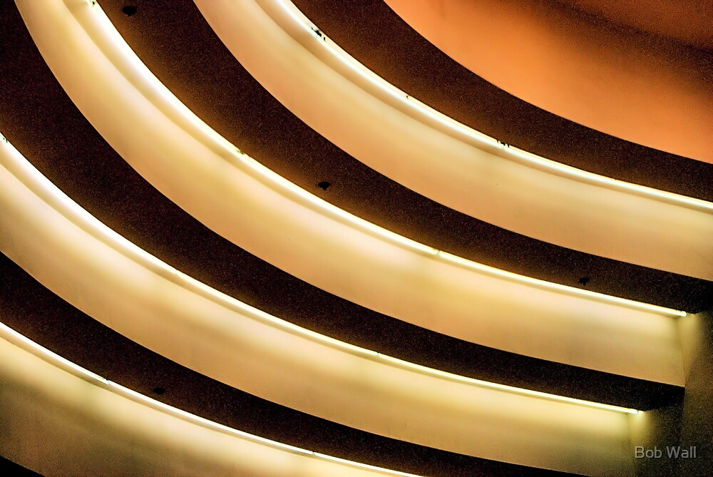 Lights in Moscone Center by Bob Wall