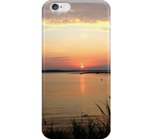 Hart Cove Sunrise - With You | East Moriches, New York  iPhone Case/Skin