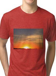 Alberta Sunset Tri-blend T-Shirt