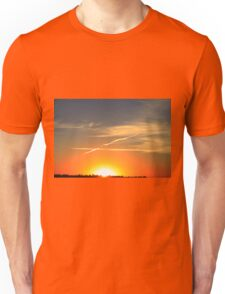 Alberta Sunset Unisex T-Shirt