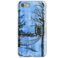 River Bridge in Early Spring iPhone Case/Skin