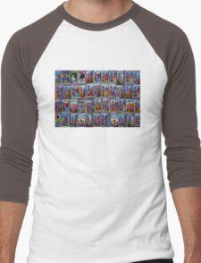 Caminito, Buenos Aires Men's Baseball ¾ T-Shirt