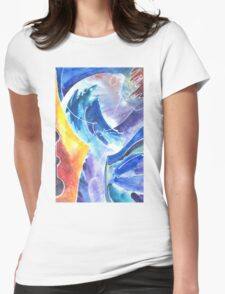 Magical Bird of Creativity Womens Fitted T-Shirt