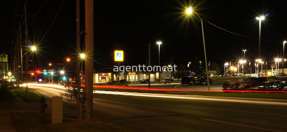 Night lights by agenttomcat