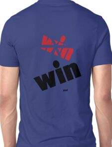 Ok now it is really on the other backside Unisex T-Shirt