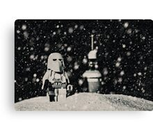 The night shift on Hoth Canvas Print