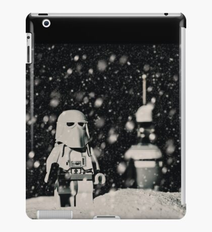 The night shift on Hoth iPad Case/Skin