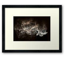 Hookah Smoke Framed Print