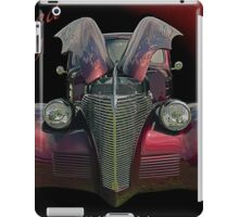 Painted Lady - 1939 Chevrolet Sedan iPad Case/Skin